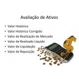 avaliação dos ativos de uma empresa Campo Grande