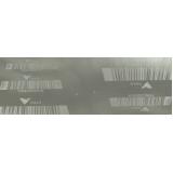etiqueta de controle de patrimônio em aço inox Vila Clementino