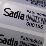 etiqueta para controle de bens Carandiru