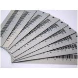 etiqueta de patrimônio em alumínio