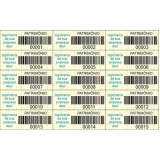 venda de etiqueta para controle de bens patrimoniais Ponte Rasa